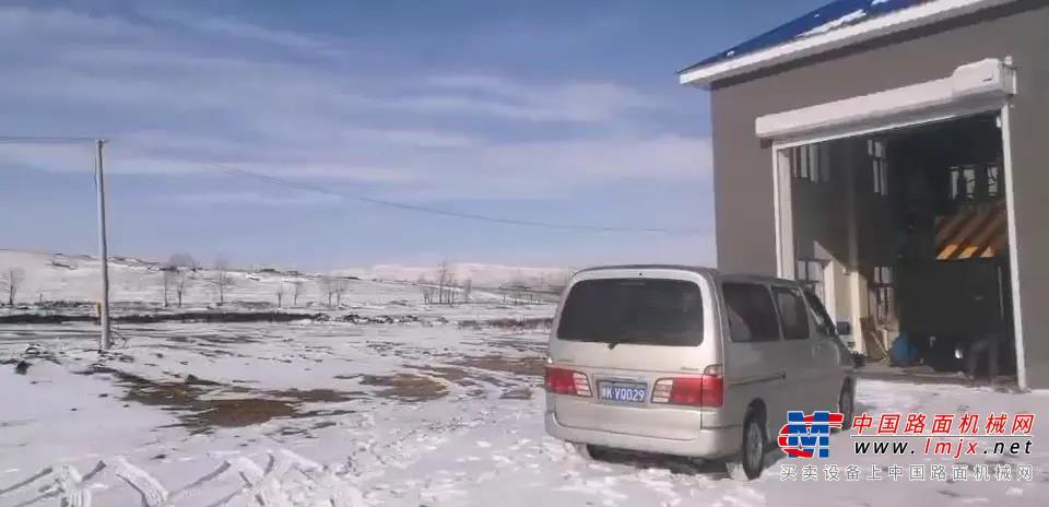 齐心协力,冰雪中鏖战 || 森源人顺利为内蒙古额尔古纳安装垂直压缩站