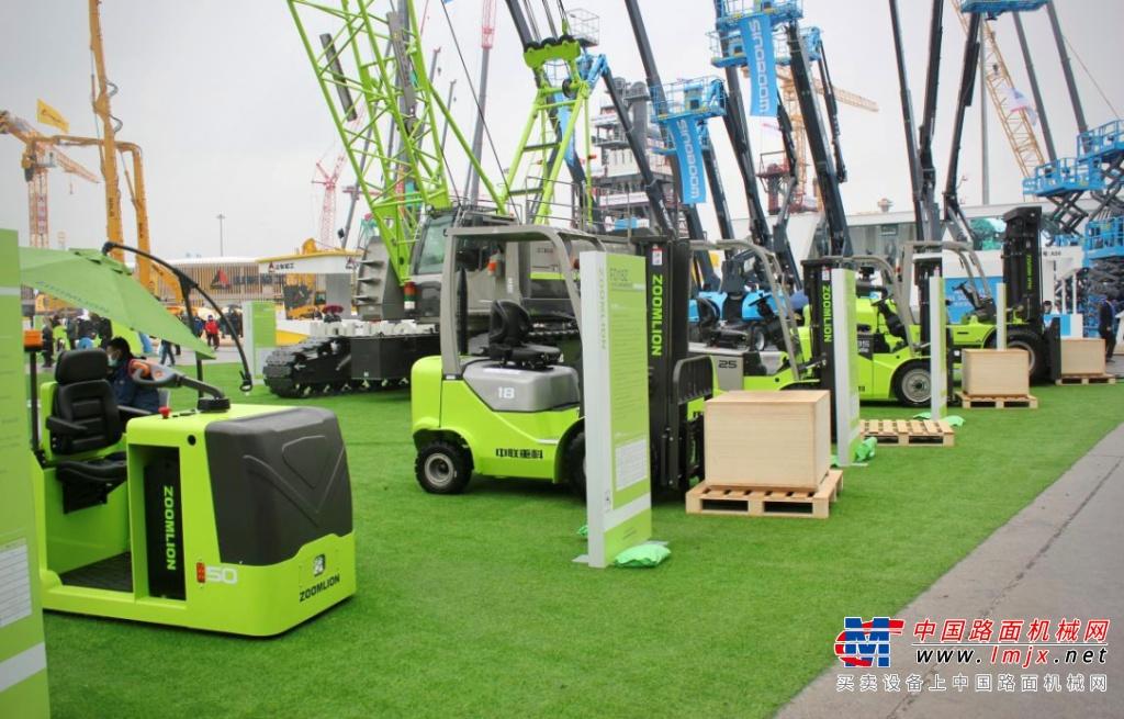 中联重科绿色动力 智享未来 ——工业车辆公司六大产品亮相宝马展