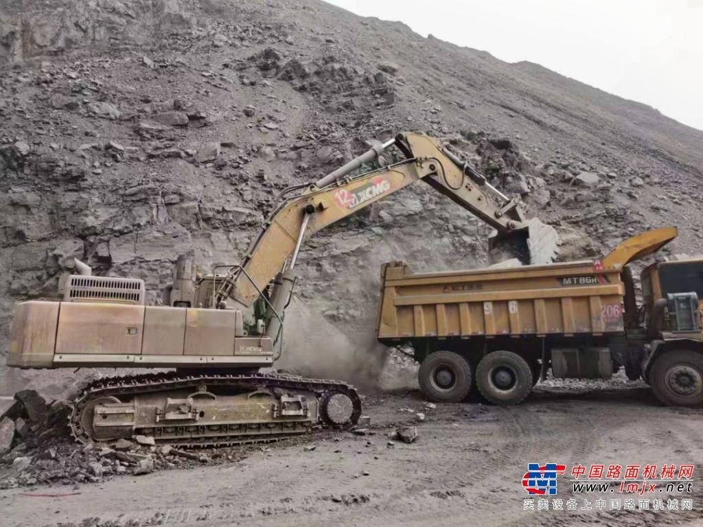 矿山利器,悍将徐工丨徐工XE490DK驰骋内蒙古矿场