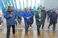 省政协主席李微微:山河智能要把产业链共享到全国