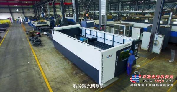 杭叉集团钣焊有限公司,可实现从零件到成品的全自动加工焊接