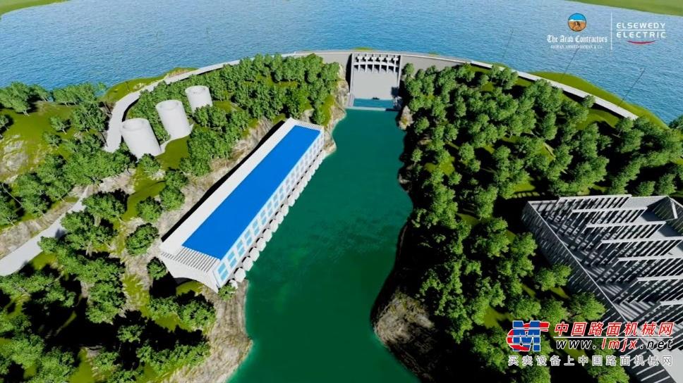 中联重科超大吨位塔机批量出口非洲 助建坦桑尼亚最大水电站