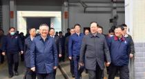 湖南省委副书记、代省长毛伟明一行到恒天九五邵阳纺机调研