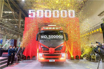 中国重汽年产销突破50万辆 谭旭光离他的小目标还远吗?