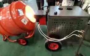宜迅小型热再生沥青修补车试机