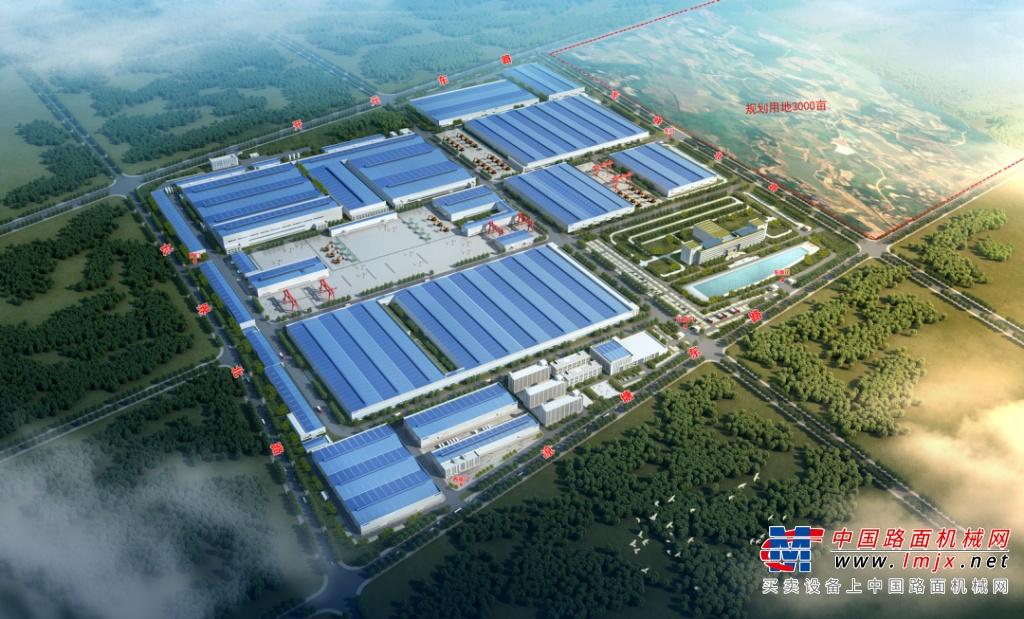 抢滩机械制造业新高地,山河智能工业城三期项目开工