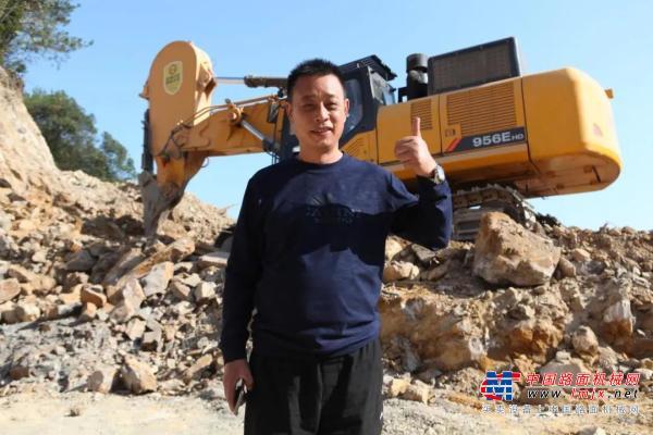 江西上饶张总:我曾迷信进口品牌,如今买挖机只认柳工!