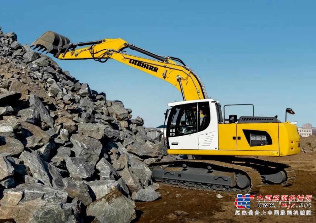 利勃海尔小吨位,大作为 | R922 LC全能之选