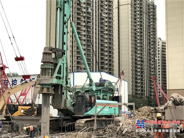 眼鉴为实 上海金泰大旋挖现场观摩暨客户交流活动在广东顺德举办