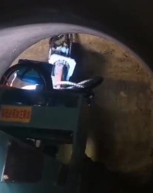 宜讯扒渣机施工视频
