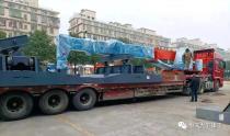 恒天九五桩机批量发往海外
