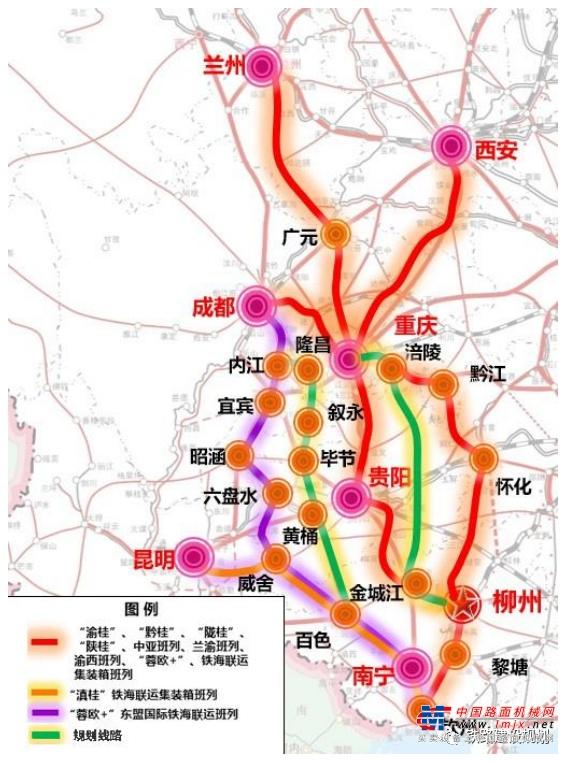 西部陆海新通道黔桂铁路复线改造工程勘察设计招标启动