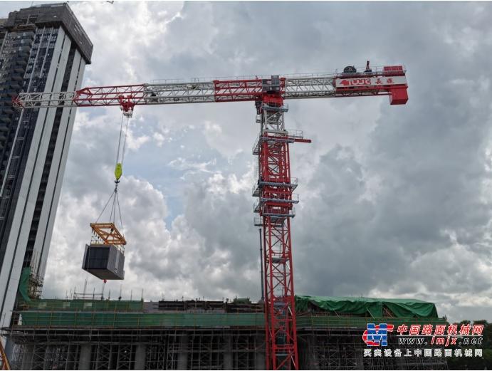 中联重科高效助建全球最高预制住宅项目 塔机定制设计走俏新加坡高端市场