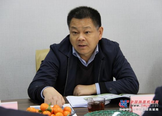 安徽蚌埠禹会区委书记、区长陈常林等领导一行走访泰信机械