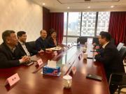 山河智能副总经理龙居才一行到访中国工程机械工业协会