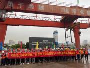 助力广州建设,中铁山河盾构机牛年始发