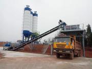 方圆稳定土拌和站再次服役宜彝高速公路建设