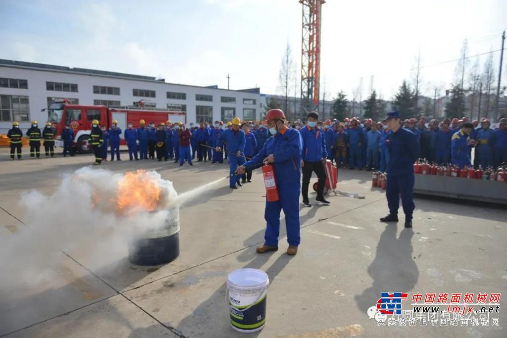 高德包装机械产品资讯方圆集团组织消防演练活动