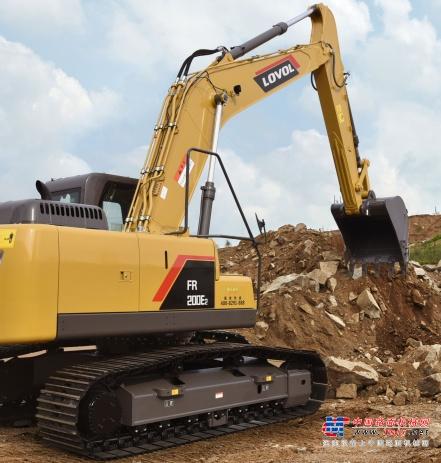 高德包装机械产品资讯旺季开工不用愁,雷沃挖机来助力