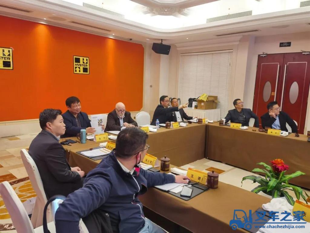 聚力2021,共赴新征程——海斯特2021苏皖区经销商业务座谈会