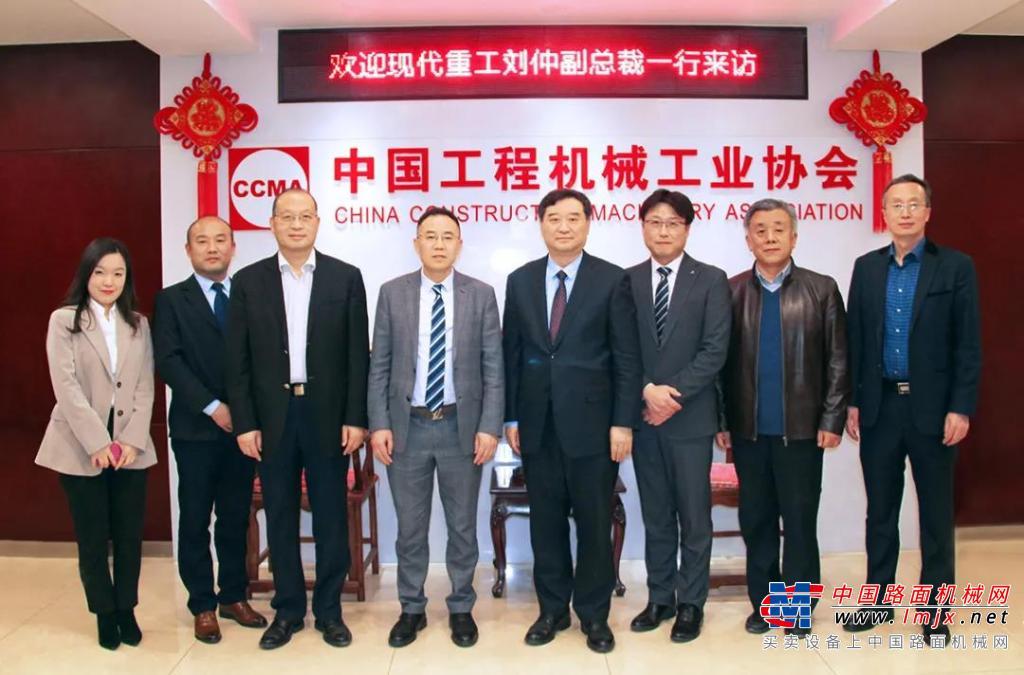 现代重工(中国)副总裁刘仲一行到访协会