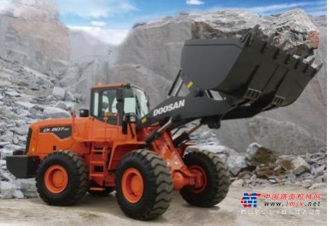 斗山DL607-9C---矿山利器,铲运专家