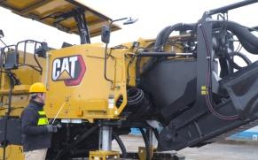 CAT®(卡特)PM620铣刨机绕机讲解