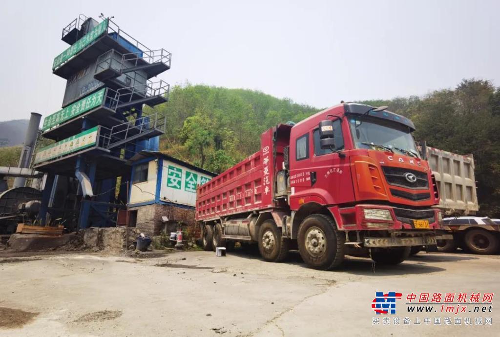云南卡友:动力强又省油 自卸车选华菱汉马选对了