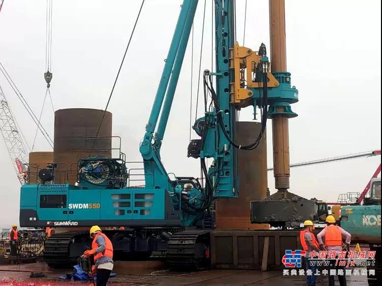 3年7台旋挖钻机,南坤建设的发展因山河智能而稳健