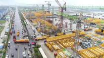 中联重科海外市场持续突破 定制打造门架式塔机出口印尼