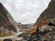大国工程|柳工挖掘机助力在建世界最大水电工程