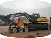 30吨级挖掘机,他只选择约翰迪尔