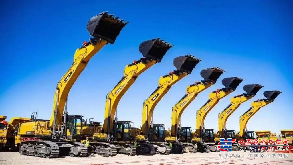 奥特集中润滑系统在三一750H挖掘机上的应用