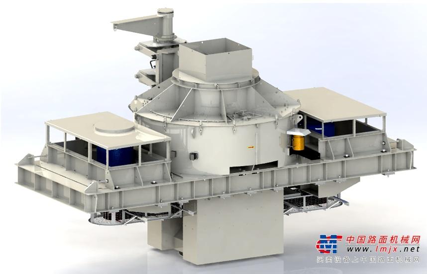 主机分级,低速制砂 南方路机US系列整形制砂机