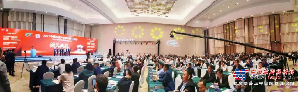 """小松(中国)获颁2020年度中国水泥行业""""最具影响力供应商""""和""""卓越设备供应商""""奖"""