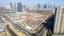 百亿新地标!徐工泵车助力阿里巴巴新基地建设