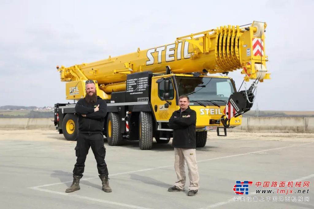 起重机车队的新成员-Steil公司购买了利勃海尔LTM1120-4.1移动式起重机