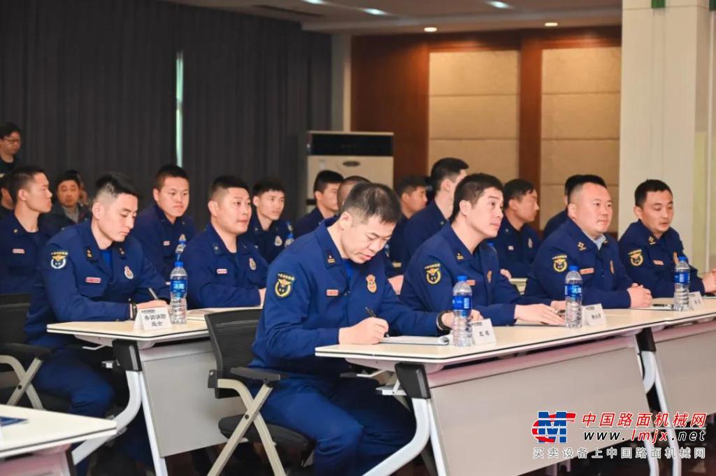 现代(江苏):第一届常州市消防救援支队工程机械技能培训圆满完成