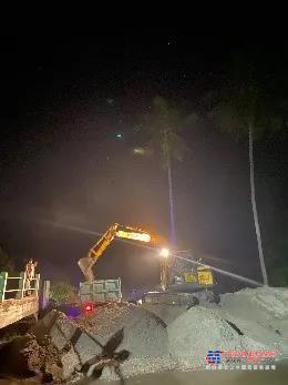 """临工小挖闪耀印尼市场,随处可见""""临工黄"""""""