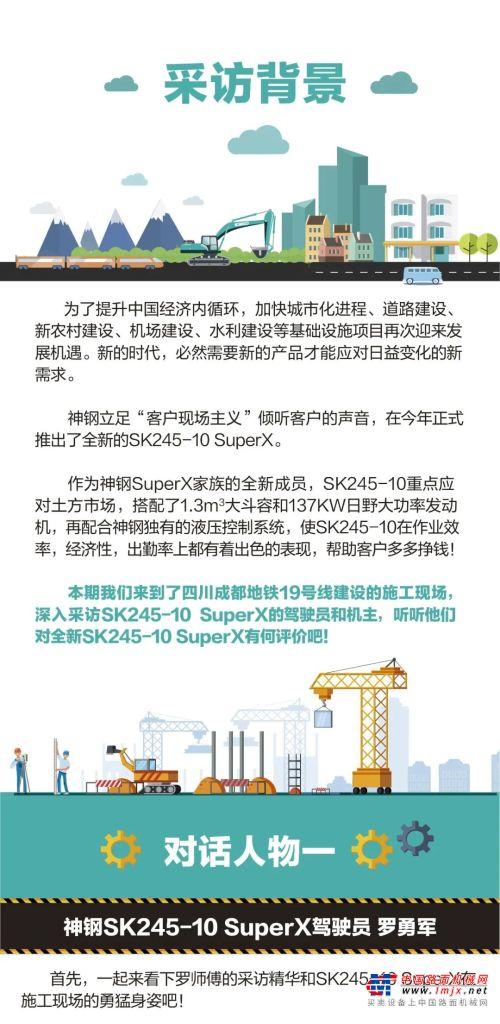 对话现场 想不挣钱都难!神钢全新SK245-10 SuperX客户访谈