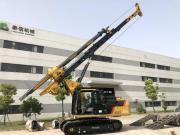 泰信机械KR90C高端卡特底盘小型旋挖钻机援建非洲刚果金