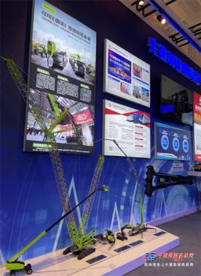 中国品牌日丨中国装备制造顶流品牌 中联重科亮相上海展风采