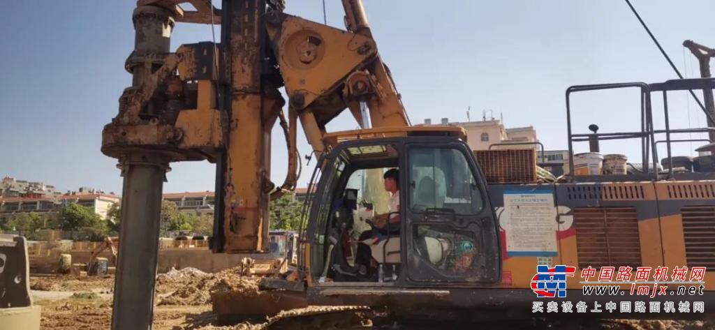 """徐工中小吨位旋挖钻机,晋升5A级景区项目""""顶流"""""""