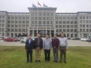 北京客户到华菱公司参观考察