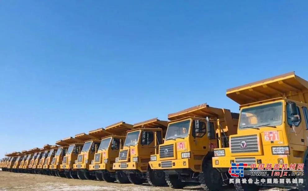 再加41台!批量徐工XG90进驻内蒙大型露天煤矿!