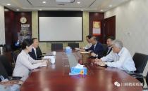川崎公司总经理陈爱明一行到访中国工程机械工业协会