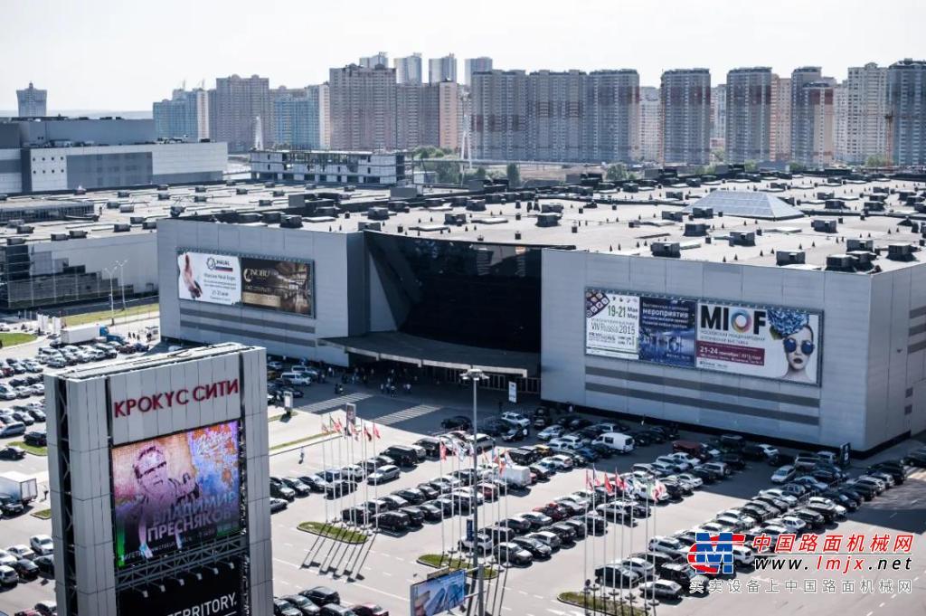 征战国际市场 | 铁拓机械参加2021俄罗斯bauma CTT展览会