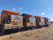 徐工:乘风破浪,50台XG90登陆非洲矿山