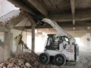 在建筑工地上,一台山猫可以干点啥??