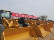 山工机械SEM655D轮式装载机首次进驻川藏铁路建设项目